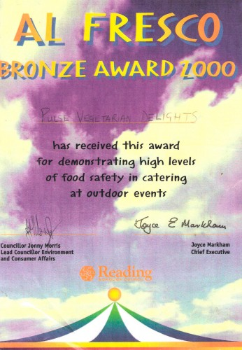 2000 Award was received at Reading Rock Festival.